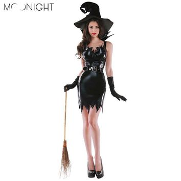 MOONIGHT Halloween Witch Costumes Christmas Carnival Clothing Adult Fairy Costume Cosplay Party Dress