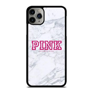 VICTORIA'S SECRET PINK MARBLE iPhone Case Cover