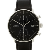 Junghans x Max Bill Stainless Steel Automatic Chronograph Watch | MR PORTER