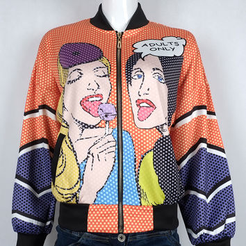 Candy Girl Printed Jacket