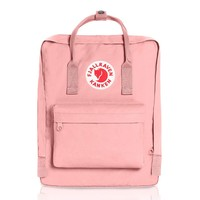 "Pink Fjallraven Kanken Laptop 15"" Backpack for Everyday"