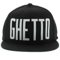 The Ghetto Starter SNAPBACK - Black & White By DGK