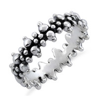 Double Helix Stackable Ring