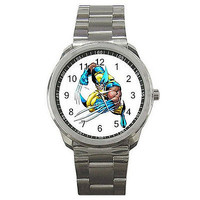 Wolverine on a Sports Watch. ..