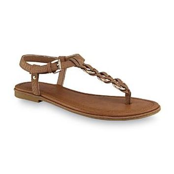 Bongo Women's Eliza Brown T-Strap Sandal - Clothing, Shoes & Jewelry - Shoes - Women's Shoes - Women's Sandals