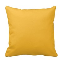 Goldenrod Yellow Pillows Decorative For The Couch