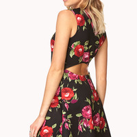 Rebel Rose Skater Dress