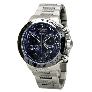 Invicta 15441 Men's S1 Rally Blue Dial Steel Bracelet Chronograph Watch