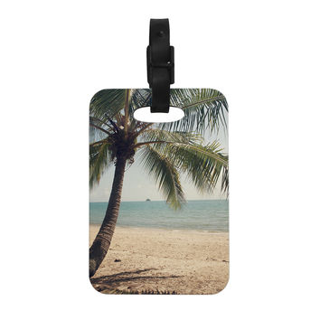 "Catherine McDonald ""Tropic of Capricorn"" Ocean Photography Decorative Luggage Tag"