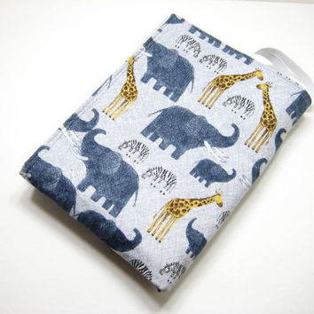 Elephant Changing Mat, Jungle Animals Diaper Bag Accessory, Baby Shower Gift Idea