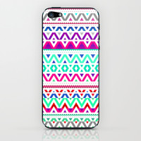 Neon Mix #2 iPhone & iPod Skin by Ornaart