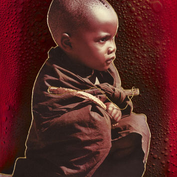 African Innocence Original Fine Arts Painting By Jeurgen Aldag