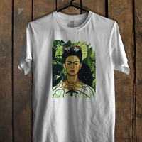 Frida Kahlo Colorfull Mens T Shirt *