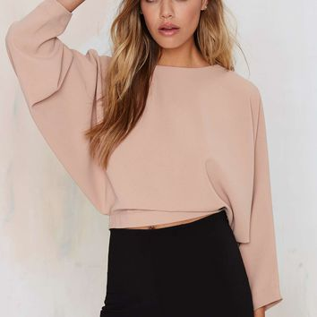 Leonore Dolman Crop Top