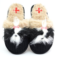 Shih Tzu Slippers by Fuzzy Nation | Pet Pawfection