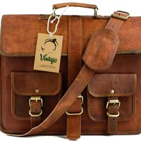 Vintage Perth Military Style Satchel Bag