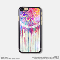 Watercolor Painting Dream Catcher iPhone 6 6Plus case iPhone 5s case iPhone 5C case iPhone 4 4S case Samsung galaxy Note 2 Note 3 Note 4 S3 S4 S5 case 493