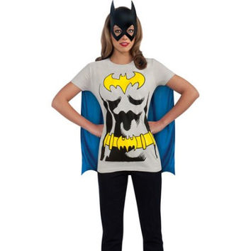 Rubies Batgirl T-Shirt Adult Halloween Costume