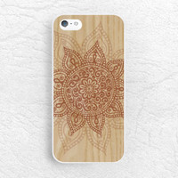 Mandala Henna wood print Phone Case for iPhone 6/6s, Sony z1 z3 Z4, LG g3 G4, Samsung s6, HTC one m9 m8, tribal style Aztec phone cover -G28
