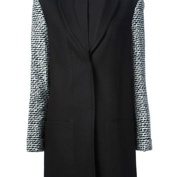 Diane Von Furstenberg bi-colour coat