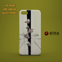 ZOMBIE BREAK OUT Design Custom Case by ditto! for iPhone 6 6 Plus iPhone 5 5s 5c iPhone 4 4s Samsung Galaxy s3 s4 & s5 and Note 2 3 4