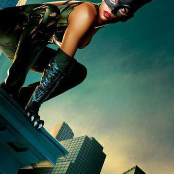 Catwoman Halle Berry movie poster Sign 8in x 12in
