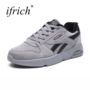 New Arrival Running Shoes Men Trainers Black Gray Mens Jogging Shoes Air Cushion Walking Jogging Sneakers Mens Runners