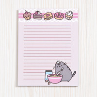 Baking Pusheen notepad