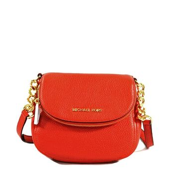 Michael Kors Leather Bedford Flap Crossbody Handbag