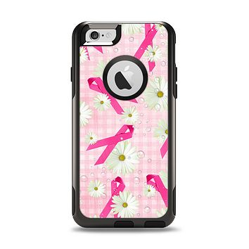 The Pink Ribbon Collage Breast Cancer Awareness Apple iPhone 6 Otterbox Commuter Case Skin Set