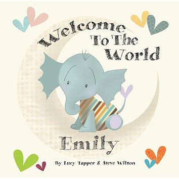 Welcome to the World Personalized Storybook - Soft Cover
