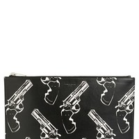Saint Laurent Gun Print Pouch