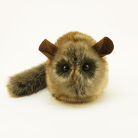 Butterscotch the Brown Chinchilla Stuffed Animal Plush Toy