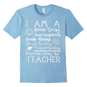 Teacher shirt/ Teachers gift : EDUCATION - LOVING T-shirt