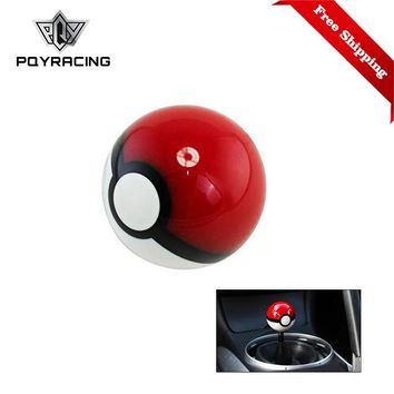 Diameter 54mm  PokeBall Racing Gear Shift Knob M10X1.5 PQY-GSK15Kawaii Pokemon go  AT_89_9