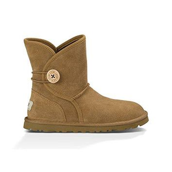 UGG Australia Youth's Leona Boots Chestnut  UGGboots with heel