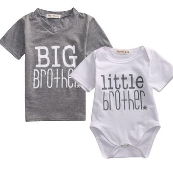'Big Brother. Little Brother' Tee Shirt & Onesuit