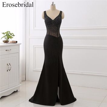 Sweep Train Evening Prom Dress