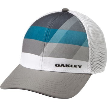 Oakley Silicon Bark Trucker 3.0 Print Trucker Hat