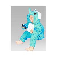 Kids Cute Cartoon Sleepwear Pajamas Cosplay Costume Animal Onesuit Suit Fancy Dress  Elephant