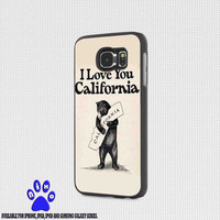 i love California for iphone 4/4s/5/5s/5c/6/6+, Samsung S3/S4/S5/S6, iPad 2/3/4/Air/Mini, iPod 4/5, Samsung Note 3/4 Case * NP*