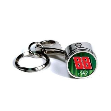 Dale Earnhardt Jr. #88 NASCAR Piston Key Chain