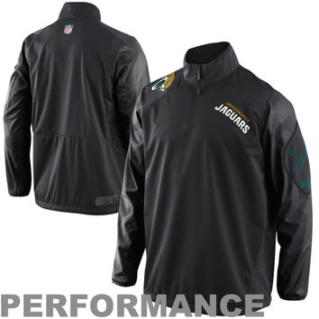 Nike Jacksonville Jaguars Vapor Ultimatum Full Zip Sideline Jacket - Black