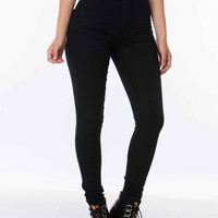 Bombshell High Waist Jeans Black