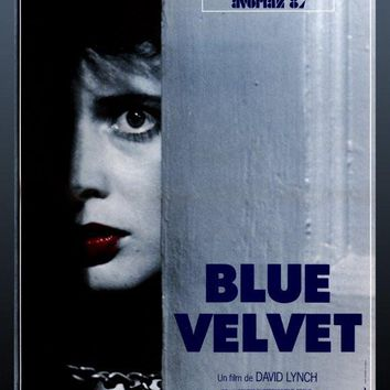 Blue Velvet 27x40 Movie Poster (1986)