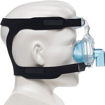 MAXIMUM COMFORT CPAP Universal Replacement Strap for masks * 4-point connection works for most all nasal & full-face sleep apnea masks - Sleep Apnea, Anti-Snoring Equipment
