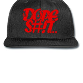 dope shit red Snapback,Hat