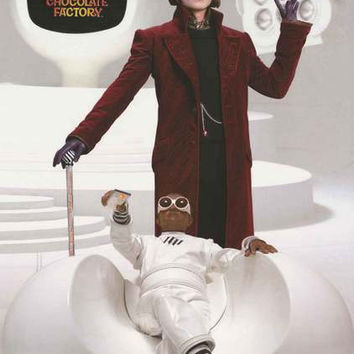 Charlie and the Chocolate Factory Movie Poster 22x34