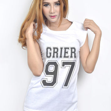 Nash Grier Cameron Dallas Top for Teen Women Teenager Hipster Tumblr Clothing Fashion Shirt Fangirl Birthday Gifts