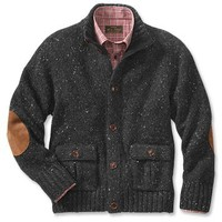 Men's Wool Cardigan Sweater / CFO Collection Alpaca-Blend Cardigan -- Orvis